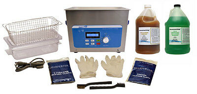 SharperTek Ultrasonic Handgun Pistol Cleaning Cleaner Tank and Package XPS240-4L