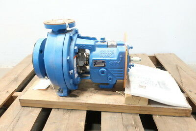 New Goulds 3196STI I-frame Stainless Centrifugal Pump 140gpm 1-1/2x3-8