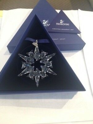 Swarovski Crystal Annual Ornament 2007