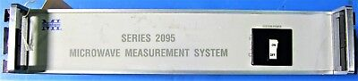 Vintage MI TECHNOLOGIES Series 2196, Rack mount, Microwave Measurement System