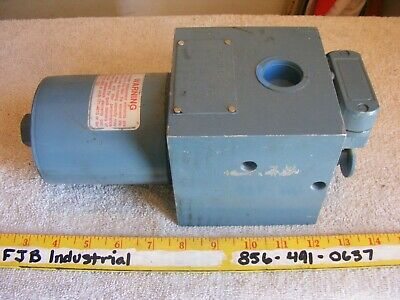"Schroeder Hydraulic Manifold Filter System 3000PSI DF301C3PMS 1"" In/Out"