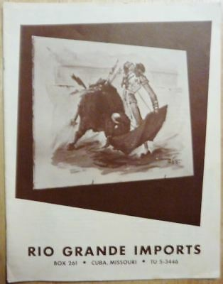 Vintage Rio Grande Imports western catalog Saddles & more Cuba MO. Route 66 !!!!