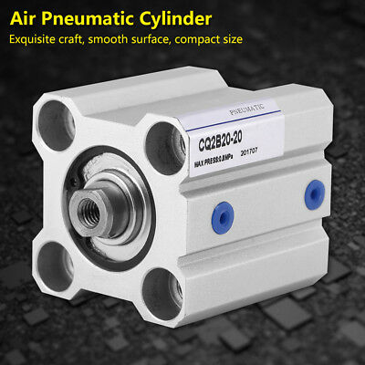 SMC Type CQ2B20-20D Compact Dual Acting Stoke 20mm Air Pneumatic Cylinder gbd