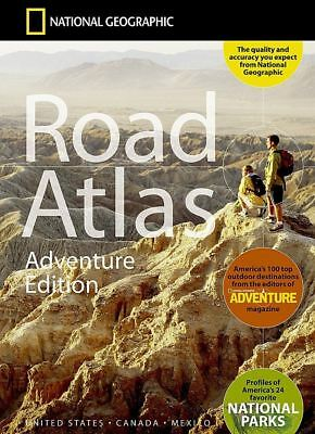 National Geographic Road Atlas - Adventure Edition RD00620166