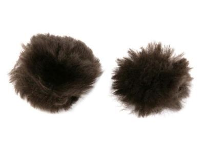 Le Mieux Lambskin Ear Plugs - Large - Brown - BN