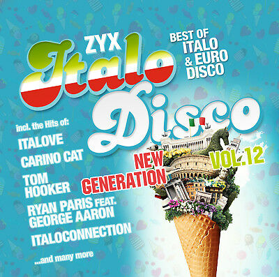 CD ZYX Italo Disco New Generation Vol.12 von Various Artists 2CDs