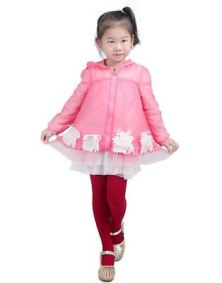 Girls Cute Warm Winter Fashion Cable Knit Stockings Kids Footed Stretch Tights