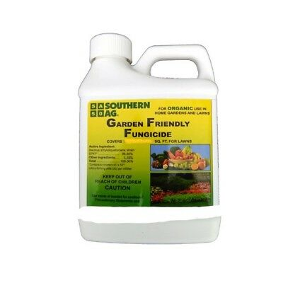 Garden Friendly Fungicide 8 oz. Organic Use Biofungicide Bactericide For Plants