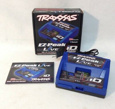 Traxxas 2971 EZ-Peak Live 12 AMP Bluetooth Fast Battery Charger for X-Maxx XMAXX