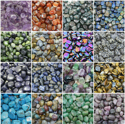 1/4 lb Lots Wholesale Bulk Tumbled Stones: Choose Type (Crystal Healing, 4 oz) B