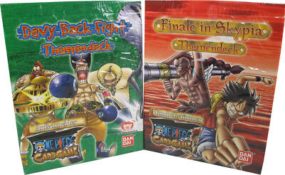 One Piece Davy Back Fight und Finale in Skypia Themendeck Set