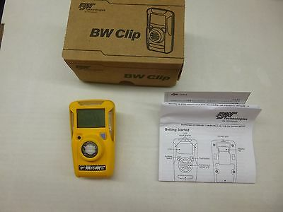 BW Technologies BWC2-X GasAlert Clip Extreme Lithium Batt. O2 Single Gas Monitor