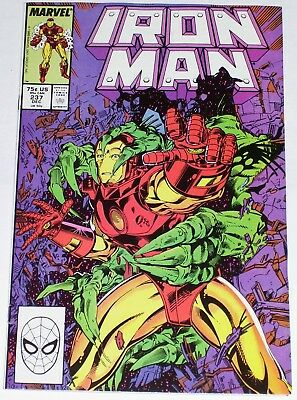 Iron Man #237 from Dec 1988 VF- to VF+