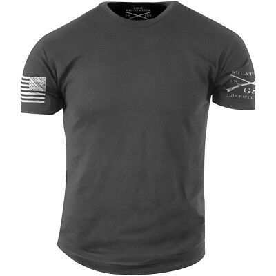 Grunt Style Heavy Metal Basic T-Shirt - Gray