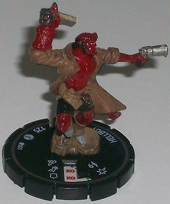 HELLBOY #001 Hellboy and the B.P.R.D Dark HeroClix/HorrorClix