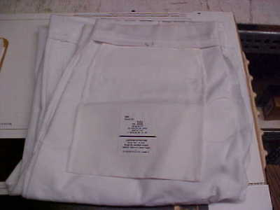 USN Navy Sea Cadet Enlisted Male Trousers Dress Whites Bell Bottoms 36L loc#w117