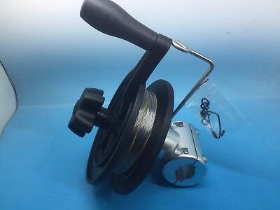 Teaser Dredge  And Rail Mount Reel 12 Strips 1.5 m long 84  Fish/ Wizard Promo