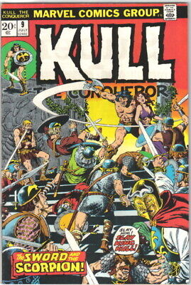 Kull The Conqueror Comic Book #9 Marvel Comics 1972 VERY FINE