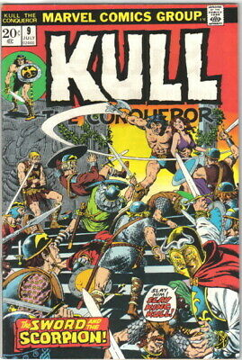 Kull The Conqueror Comic Book #9 Marvel Comics 1972 VERY GOOD+
