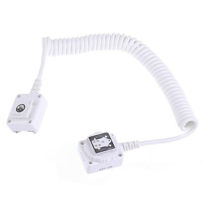 NEEWER off-camera flash hot shoe connector cord for Canon Camera Speedlite White