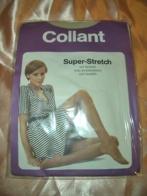 RAR Vintage Super Stretch Feinstrumpfhose Gr. 10-10,5 hell Tights Collant OVP
