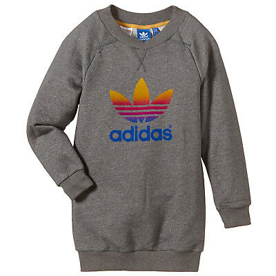Fille Décoloration Cou Adidas Sweat Originals Ras Du Pull Long lF1Jc3TK