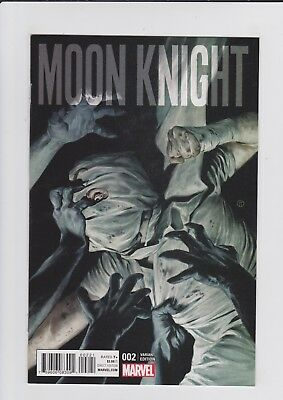 Marvel Comics Moon Knight #2 Tedesco 1:25 Variant Cover 1st Printing 2016 RARE