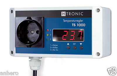 Temperature Switch TS1000 incl. Sensor PT1000 Gew Cooling Testing + Meter