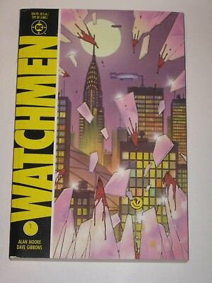 The Watchmen 1st Ever Trade Paperback 1st Printing  Unread High Grade in NM DC
