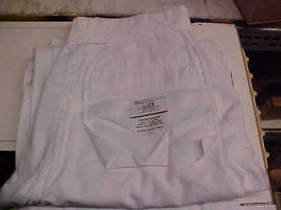USN Navy Sea Cadet Male Enlisted Dress White Pants Bell Bottoms 31R loc#w146