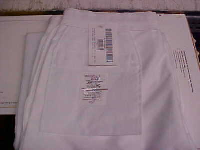 USN Navy Sea Cadet Male Enlisted Dress White Trousers Bell Bottoms 36L loc#w162