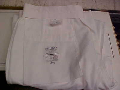 USN Navy Sea Cadet Male Enlisted Dress White Trousers Bell Bottoms 36LX36 #w164