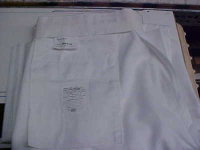 USN Navy Sea Cadet Male Enlisted Dress White Trousers Bell Bottoms 36RX34 #w172