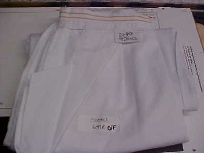 USN Navy Sea Cadet Female Ensign LT LCDR Officer Dress White Slacks 6MR loc#w182