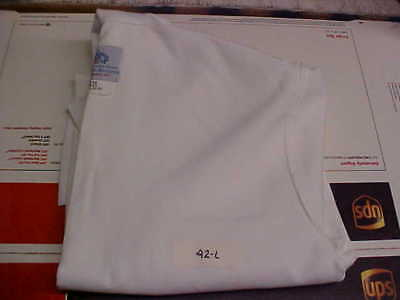 USN Navy Sea Cadet Male Enlisted Uniform Dress White Jumper Blouse 42L loc#w187
