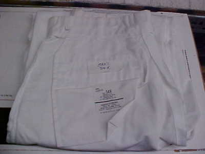 USN Sea Cadet Male Enlisted Uniform Dress White Pants Bell Bottoms 34R loc#w192