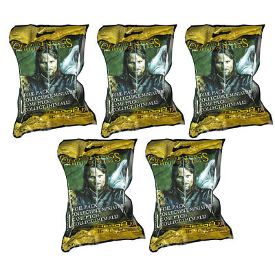 Heroclix - Lord of the Rings: Return of the King - BLIND BAGS (5 Pack Lot) - New
