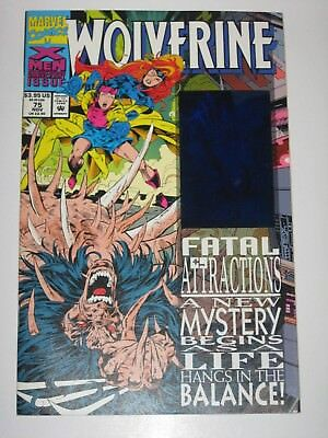 Wolverine  75  Fatal Attractions Hologram Cover  Unread High Grade Marvel Comics