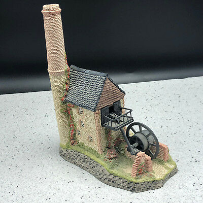 DAVID WINTER COTTAGE HOUSE sculpture figurine statue West Country Cornish engine