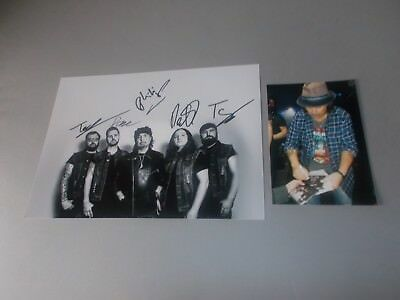 Phil Campbell And The Bastard Sons  signed signiert Autogramm auf 20x28 Foto