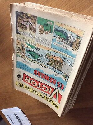 Victor Comics, Bulk Collection of over thirty from the Seventies