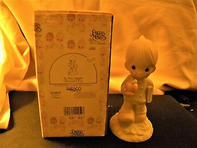 1993  To The Apple Of God's Eye   Precious Moments Figurine With Box 522015