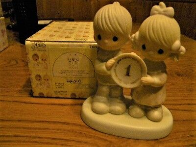 1983 God Blessed Our Year With So Much Love Precious Moments Figurine  E-284