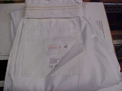 USN Navy Sea Cadet Midshipman LT Male Officer Dress Whites Pants 34R loc#W211