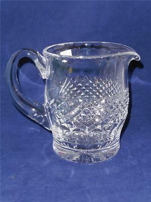 WATERFORD CRYSTAL COLLEEN CRYSTAL JUG PITCHER Cut Bottom Base 32 OUNCES