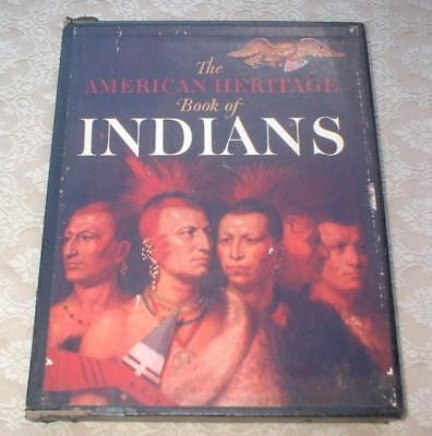 1961 AMERICAN HERITAGE Book of INDIANS w/ SLIPCASE INTRO BY JOHN F. KENNEDY JFK
