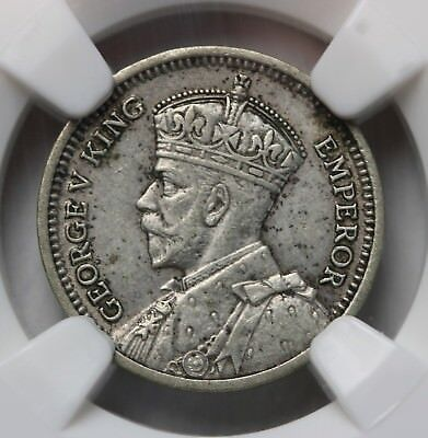 1935 New Zealand Threepence KM# 1  Silver Coin NGC XF45 RARE KEY DATE