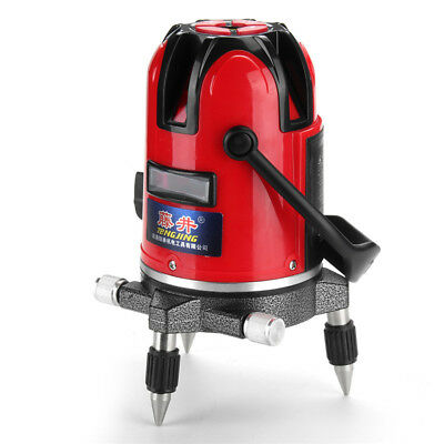 Professional 2 Line 360° Rotary Laser Auto Self-leveling Cross Red Level + Box
