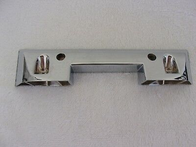 Ford 1965 1966 Mustang Arm Rest Base Chrome Pair