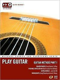 Play Guitar Guitar Method 1 - Michael Langer / Ferdinand Neges - 9783868492606